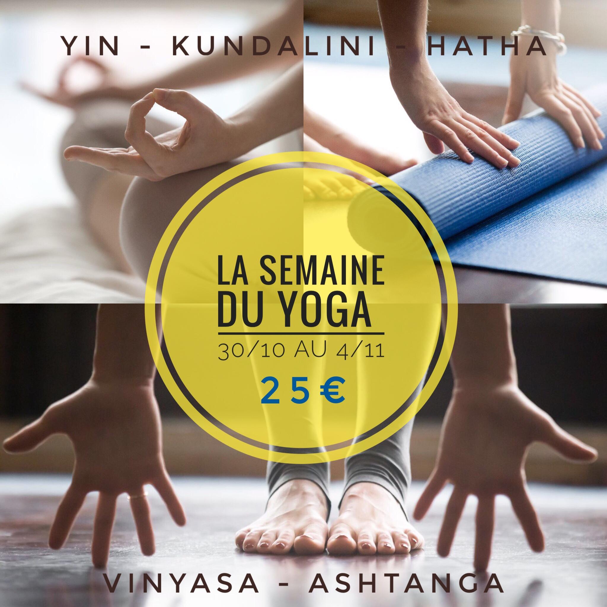 La Semaine du Yoga